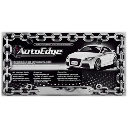 Chain Link License Plate Frame